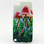 Mushroom Painting Pattern TPU Soft Case for iPod Touch 5/Touch 6