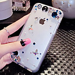 LADY®Elegant/Luxurious Phone Case for iphone 6 plus/6s plus(5.5 inch), Decorated with Diamond and Silicone Meterial