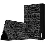 ESR Beat Series Two-fold Folio Smart Case with Auto Wake Up/Sleep Function for iPad Air 2 - Black Arrows