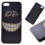 Teeth Pattern Hard Back Case for iPhone 5/5S