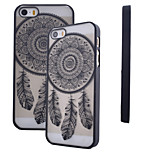 Smooth Transparent Scrub Anti-Scratch Pierced Printing PC Material  Phone Case for iPhone 6/6S(Assorted Colors)