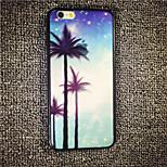 MAYCARI® Beautiful Coconut Tree Island Hard Back Case for iPhone 6/iphone 6S