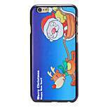 Christmas Style Running Elk Pattern PC Hard Back Cover for iPhone 6