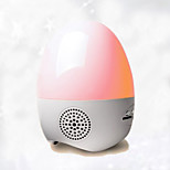 Egg-shaped Colorful Lights, Radios, Small Night Light Sound Play SD Card Function
