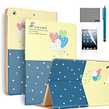 LEXY® Romantic Balloon Pattern PU Leather Flip Stand Case with Screen Protector and Stylus for iPad Mini 4