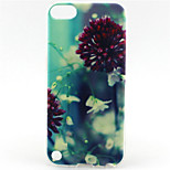 Leaf Painting Pattern TPU Soft Case for iPod Touch 5/Touch 6
