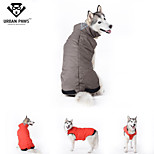 URBAN PAWS Jacket Big Large Dogs Jacket Winter Coat with Cozy Fleece Lining  for Dogs (Assorted Colors and Sizes)