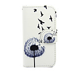 Dandelion with Swallow PU Leather Full Body Case with Stand for Nokia Lumia 630/635