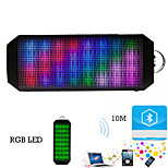 6W PULSE Portable Wireless Bluetooth Speaker Support  Colorful  LED lights for Phone iphone 6S Samsung