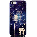 Couple Dandelion Pattern Blu-Ray TPU Material Phone Case for iPhone 5 /5S