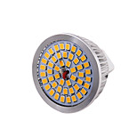 7W GU5.3(MR16) Focos LED MR16 48 SMD 2835 600 lm Blanco Cálido Decorativa DC 12 V 1 pieza