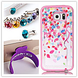PU+TPU Stent Painting Pattern Wallet Mobile phone for Samsung Galaxy S4 Mini I9190