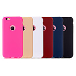 Leather Texture Soft TPU Case for iPhone 5S