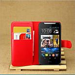 das geprägte Kartenunterstützung Schutzhülle für HTC Desire 310 Handy