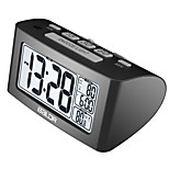 New Design Digital Nap Timer Alarm Clock, Quick Setting Buttons Lcd Temperature Napper Display, Brand Desktop Clocks