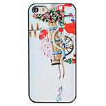 Christmas Style Gift Trolley Pattern PC Hard Back Cover for iPhone 5/5S
