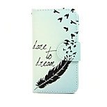 Dream with Swallow PU Leather Full Body Case with Stand for Nokia Lumia 630/635