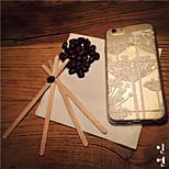 MAYCARI®Pure Dandelion Transparent TPU Back Case for iPhone 6plus/iPhone 6S plus