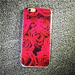maycari® rose delicati ed affascinanti trasparente tpu di caso per 6s iphone 6 / iphone