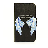 Printed Wings PU Leather Wallet Full Body Case with Stand for Nokia Lumia 630/635