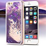 deluxe sabbie pc di cristallo bling stelle copertura trasparente duro per iPhone 5 / 5s (colori assortiti)