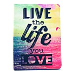 Special Design Novelty Folio Case PU Leather Coloured Drawing or Pattern Holster for iPad mini 4