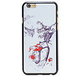 Christmas Style Santa Sending Gifts Pattern PC Hard Back Cover for iPhone 6 Plus