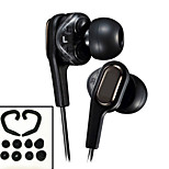 Newest Original HA-FXT90 HiFi Dual drive In-Ear Headphones 3.5mm Stereo earphone Bass Headset for Iphone 6 / 6Plus