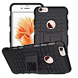 Protective ABS Back Cover Armor Case w/ Stand for IPHONE 6