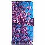 blad geschilderd pu telefoon geval voor iphone6 / 6s