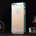 Plating Transparent PC Material Phone Case for iPhone 6/6S (Assorted Colors)
