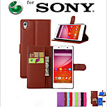 Embossed Card Protective Sleeve For Xperia M5 Mobile Phone