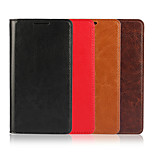SIDE Crazy Horse Oil Grain Leather Wallet Holster for Xperia Z5 Compact (Assorted Colors)