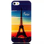 Transmission Tower Pattern Blu-Ray TPU Material Phone Case for iPhone 5 /5S