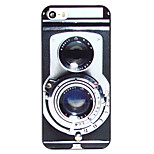 Cool Camera Pattern PC Back Cover for iPhone 5/5S