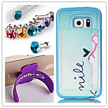 PU+TPU Stent Painting Pattern Wallet Mobile phone for Samsung Galaxy S5 i9600