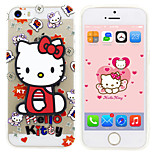 iPhone 5 Case Disney Hello Kitty Silicone Gel TPU Material case  with a free Headfore HDScreen Protector for iPhone 5/5S