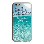 The Big Blue Pattern PC Hard Case for iPhone 6/6S
