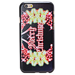 Christmas Style Garland Pattern PC Hard Back Cover for iPhone 6 Plus