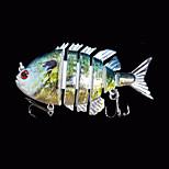 Esche rigide 14 g Oncia , 80 mm pollice 1 pc Pesca di mare , Verde Plastica dura