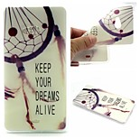 Dreamcatcher Words Phrase Pattern 0.6mm Ultra-Thin Soft Case for Lumia N540