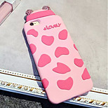 LADY®Elegant Mobile Case/Cover for iphone 6/6s(4.7), with Silicone Material and Cartoon Style, More Colors Available