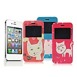 Happy Group Animal Pattern Full-body Case for iPhone 6/6S(Assorted Colors)