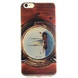 A Pirate Boat  Pattern Phone Shell Thin Acrylic Material for iPhone 6/6S