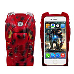 iPhone 6 Case Marvel ironman scar  3D Hard Cover Case Free with Headfore HD Screen Protector for iPhone 6 4.7in