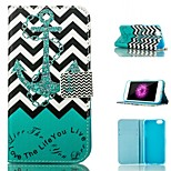 Pattern Card Stand Leather Case for iPhone 6 Plus/iPhone 6S Plus