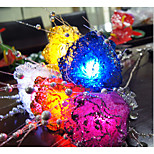 20-LED 2M Waterproof Multicolor Night Light Lamp String 2A Battery Christmas Holiday Wedding Decoration