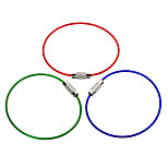 3-in-1 Stainless Steel Wire Ring Keychain Ring Quickdraw EDC Tool