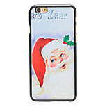 Christmas Style Santa New Year Pattern PC Hard Back Cover for iPhone 6