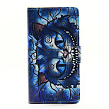 Blue Cat PU Leather Full Body Case with Stand for Huawei Ascend P8 Lite